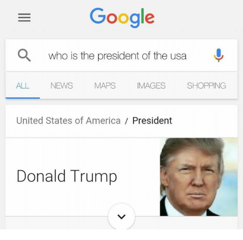 Google Who Is The President Of The Usa All News Maps Mages