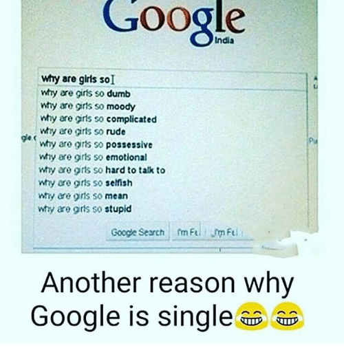 Are girls selfish why so So many