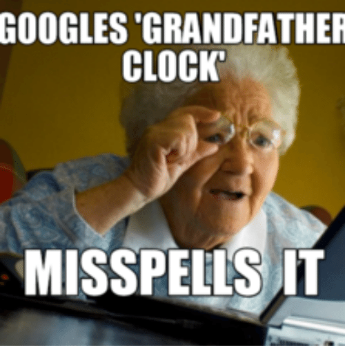 Grandfather Clock Meme