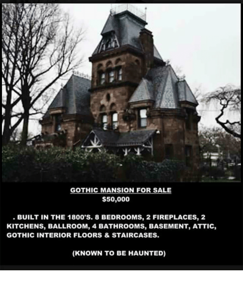 gothic mansion for sale s50000 built in the 1800 s 8 bedrooms 2 rh me me