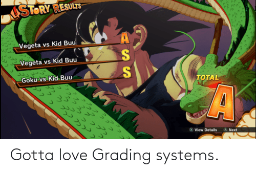 Love, Systems, and  Grading: Gotta love Grading systems.