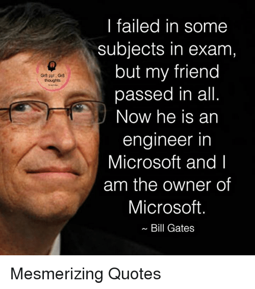Bill Gates, Memes, And Microsoft: Gr8 Ppl. Gr8 Thoughts I Failed In