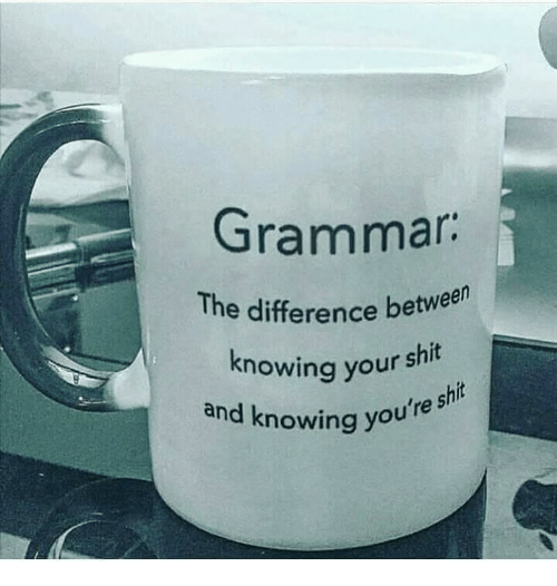 Know Your Shit