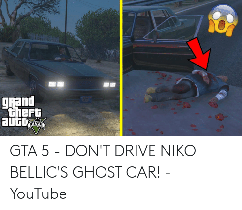 Grand Theft Auto BOYTN GTA 5 - DON'T DRIVE NIKO BELLIC'S
