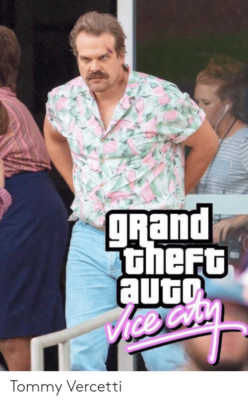 Grand, Grand Theft Auto, and Ice: gRand  theFt  auto  ice Cry Tommy Vercetti