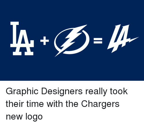 Graphic Designers Really Took Their Time With The Chargers New Logo