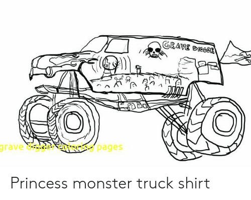 Free Printable Monster Jam Coloring Pages - Coloring Home | 397x500