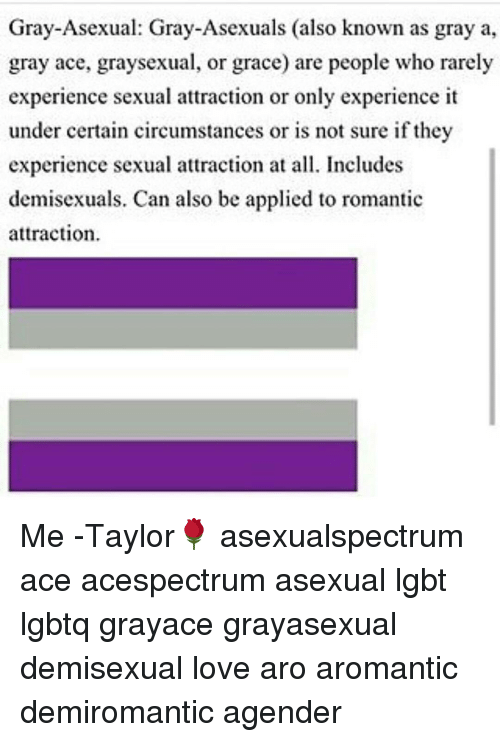 Gray ace asexual