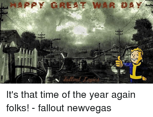 Great War Day Its That Time Of The Year Again 10288152