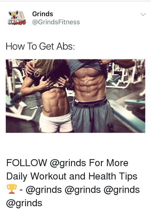 Memes How To And Grinds GRINDS GrindsFitness Get Abs