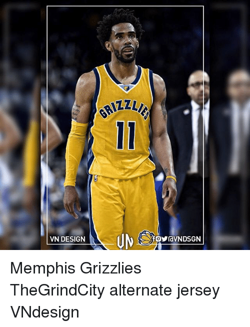 Memphis Grizzlies, Memes, and Memphis Grizzlies: GRIZZ  VN DESIGN Memphis Grizzlies TheGrindCity alternate jersey VNdesign