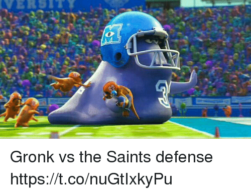 Gronk vs the Saints Defense httpstconuGtIxkyPu | New Orleans