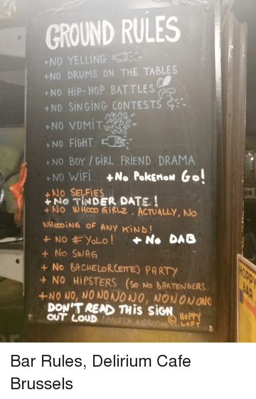 Hipster dating rules