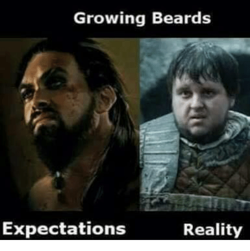 me growing a beard