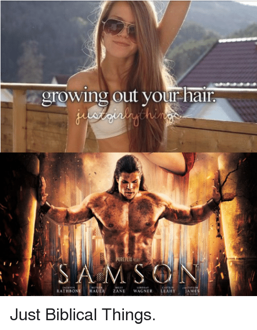 Dank Christian, James, and Samson: growing out yourhair  hi  RE  SAMSON  HAUER ZANE WAGNER LEAHY JAMES
