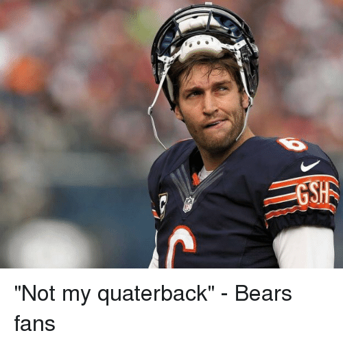 GSH Not My Quaterback - Bears Fans  4940918f2