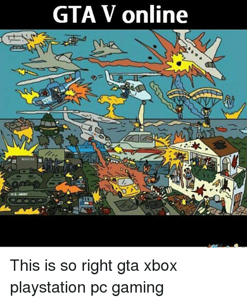 GTA v Online This Is So Right Gta Xbox Playstation Pc Gaming