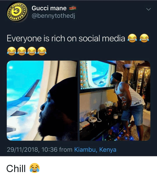 Gucci Mane Everyone Is Rich on Social Media 29112018 1036