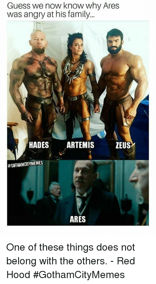 Guess We Now Know Why Ares Was Angry at His Family HADES