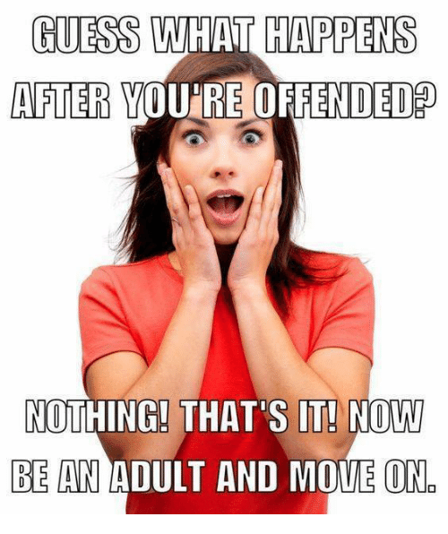 Youre Offended