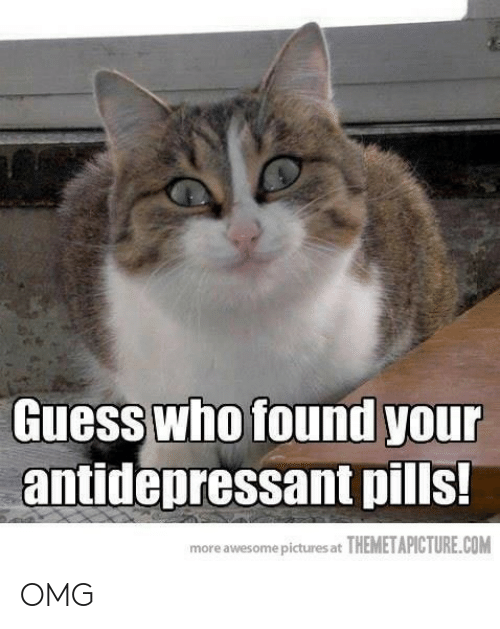 Omg, Guess, and Pictures: Guess who found you  antidepressant pills!  more awesome pictures at THEMETAPICTURE.COM OMG
