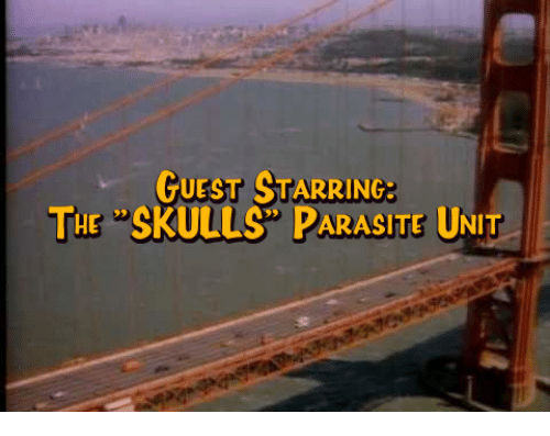 Skull, Dank Memes, and Parasite: GUEST STARRING THE SKULLS PARASITE UNIT