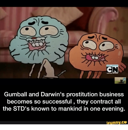 All The, Gumball, and Darwin: Gumball and Darwin's prostitution business becomes so successful