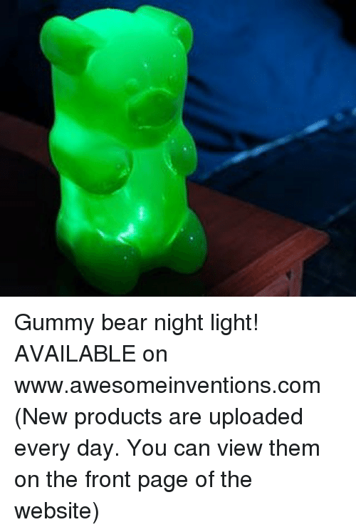 watch 57a0e 26597 gummy-bear-night-light-available-on-www-awesomeinventions-com-new-products-are-9635925.png