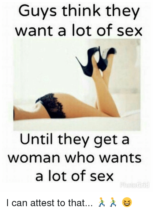 Do guys think about sex
