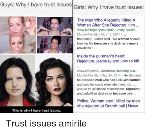 why guys have trust issues
