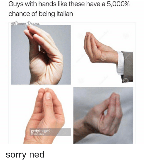 guys with hands like these have a 5 000 chance of 20865079 ✅ 25 best memes about italian italian memes