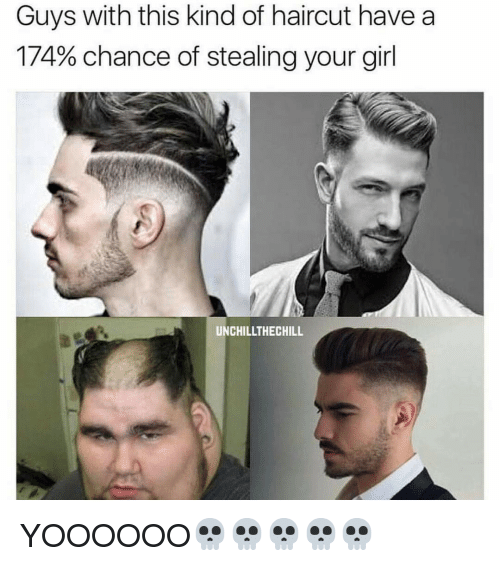 Haircut Girl Meme: Guys With This Kind Of Haircut Have A 174% Chance Of