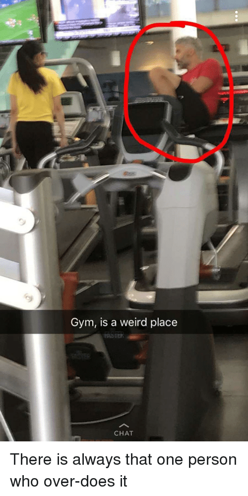 Weird Gym Photos 6