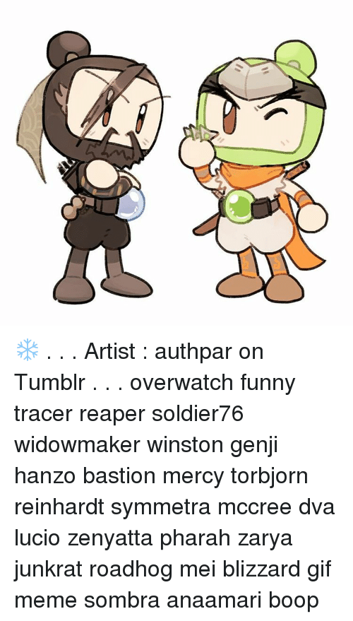 H Artist Authpar On Tumblr Overwatch Funny Tracer Reaper