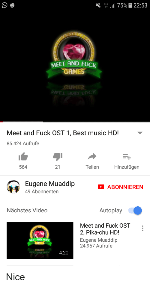 Meet and fuck music