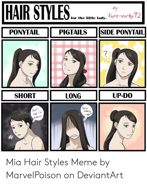 HAIR STYLES Har for the Litte Lady Kuro,Vorty 12 Ro,Vor