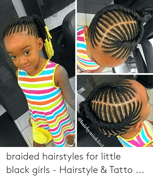 Braided Hairstyles for Little Black Girls - Hairstyle ...