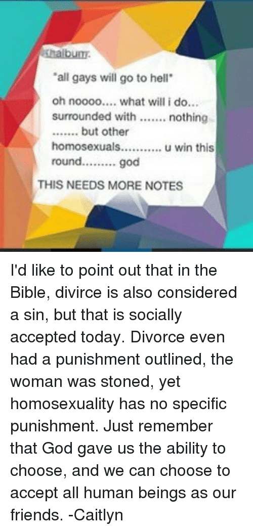 Will i go to hell if i get a divorce