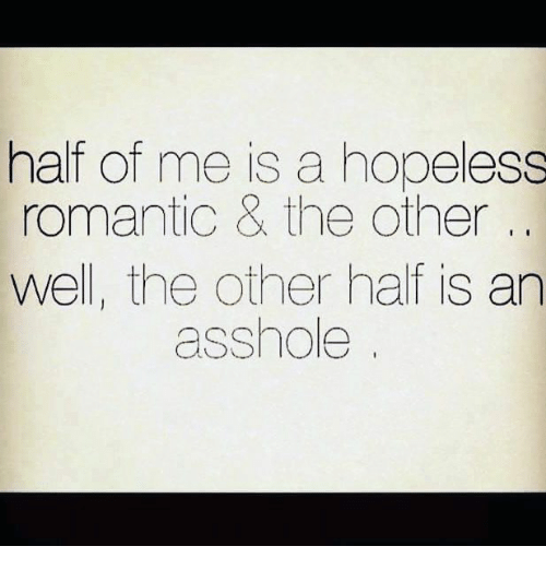 a hopeless romantic meaning