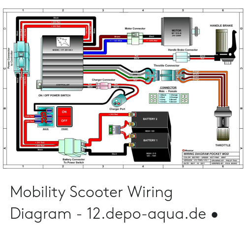 Pride Scooter Wiring Diagram