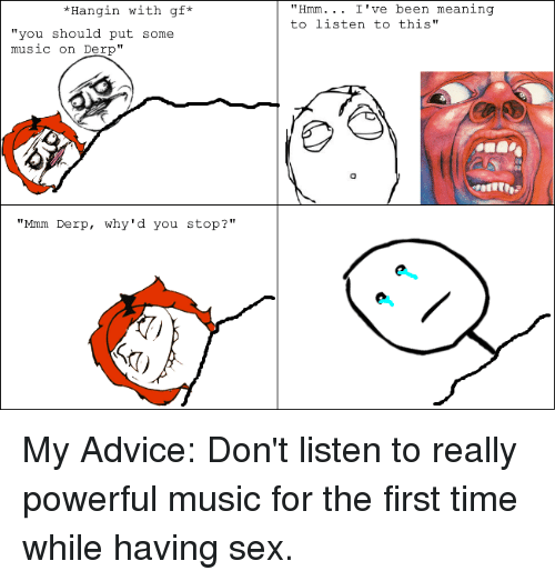 First time having sex music