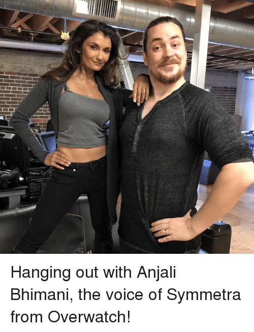 Dank, The Voice, and Voice: Hanging out with Anjali Bhimani, the voice of Symmetra from Overwatch!
