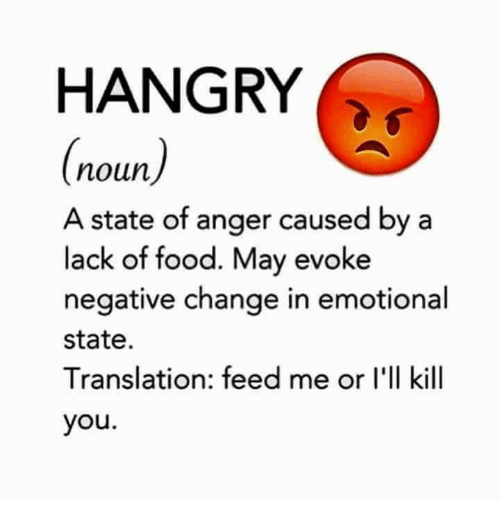 hangry noun a state of anger caused by a lack 5588937 ✅ 25 best memes about hangry hangry memes
