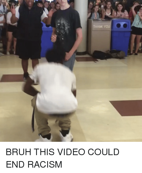 Bruh, Racism, and Videos: HANK YOU BRUH THIS VIDEO COULD END RACISM