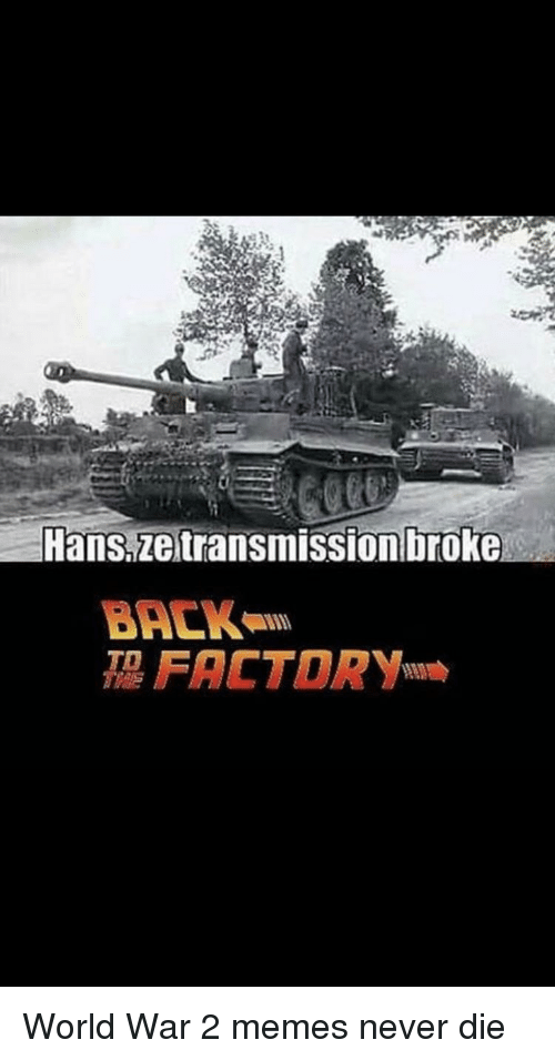 Hans Ze Transmission Broke BA IS FACTORY TD | Meme on ME ME