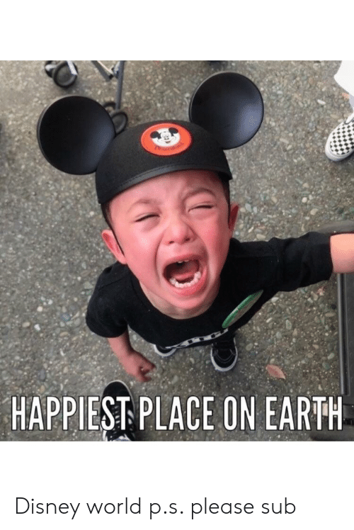 Disney, Disney World, and Funny: HAPPIEST PLACE ON EARTH Disney world p.s. please sub