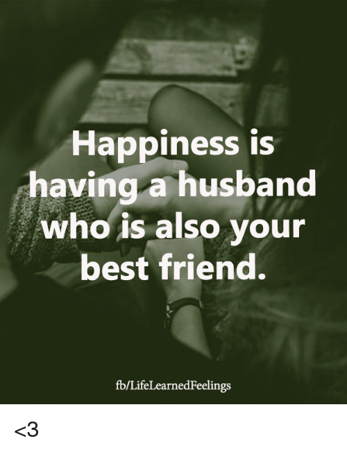 Who is the best husband