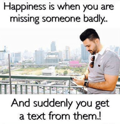 What to do when you miss someone badly