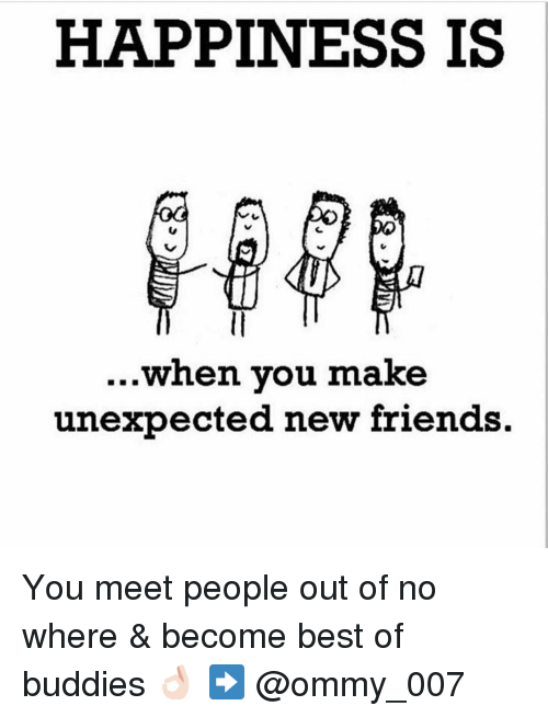 how to get out and meet new friends