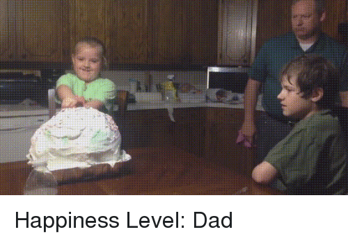 Dad, Funny, and Happiness: Happiness Level: Dad